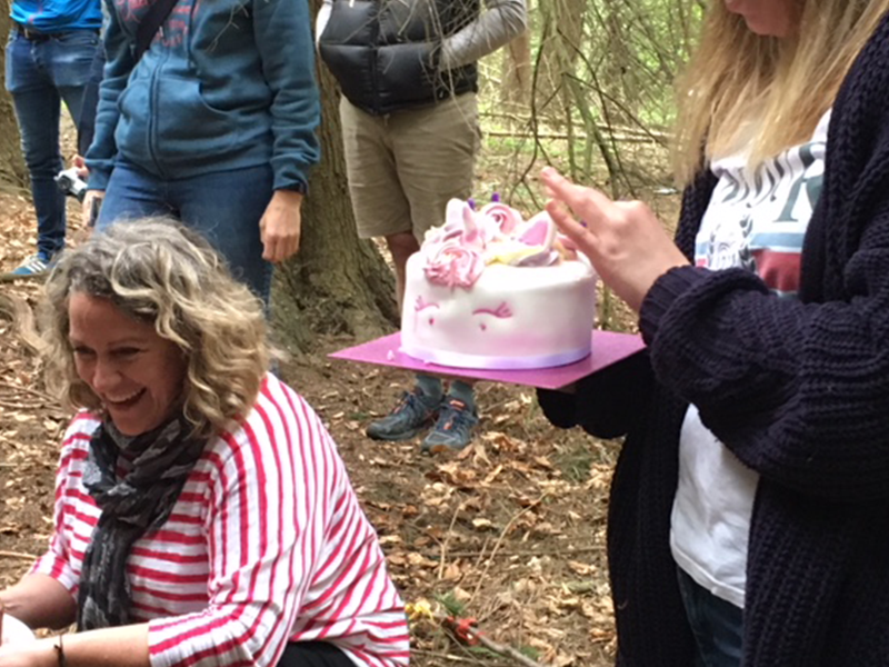 Birthday Cake - Forest School