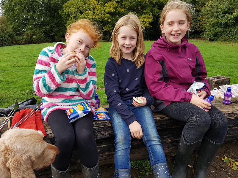 Forest School Birthday Lunch