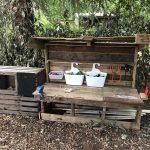 Forest School - Mud kitchen