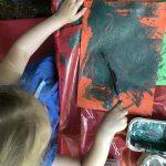 Outdoor Pre-School - Painting