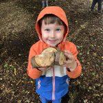 Outdoor Pre-School - Happy boy