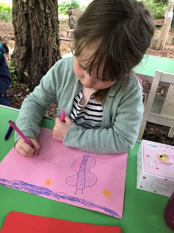 Outdoor Pre-School - Drawing