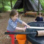 Outdoor Pre-School - Water experiments