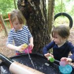 Forest School - Water experiments