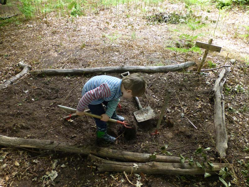 Forest School - Digging