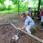 Outdoor Pre-School - Digging