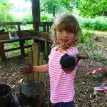 Outdoor Pre-School - Mud kitchen
