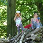 Forest School - Playing